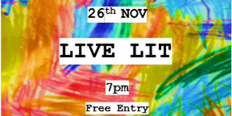 Live Lit - 28th January 2020