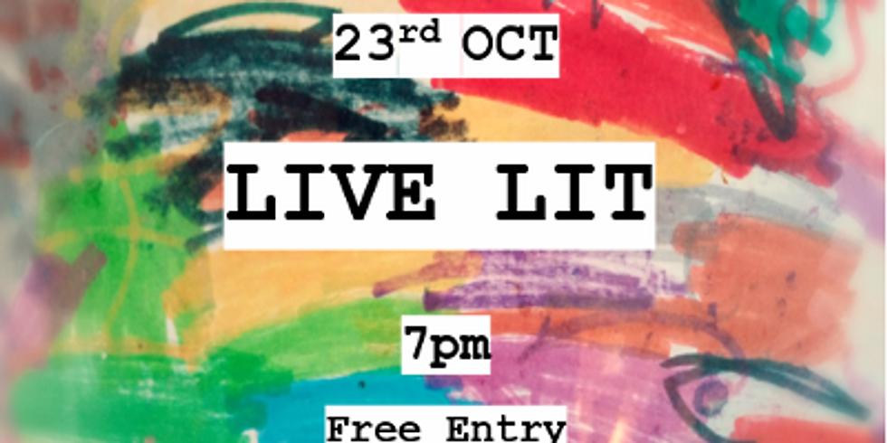 Live Lit - 23rd October 2019