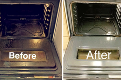 Professional Deep clean oven