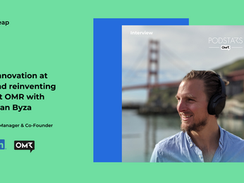 Driving innovation at LinkedIn and reinventing events at OMR with Christian Byza