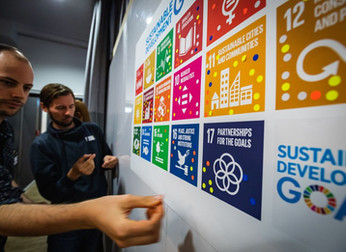 Designing sustainability solutions at the Global Goals Jam Berlin 2019