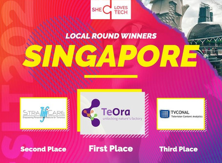 StratifiCare Wins 1st Runner Up at She Loves Tech 2020 Global Startup Competition Singapore!