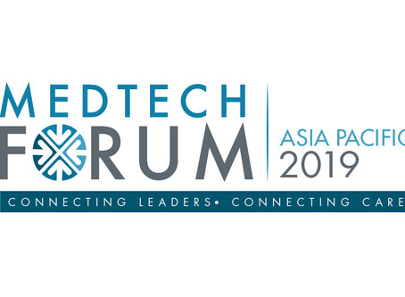 See You at the Asia Pacific MedTech Forum 2019
