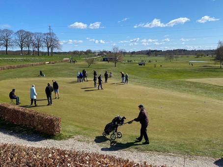 Den 25. april var Golfens Dag