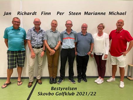 Bestyrelsen i Skovbo Golfklub 2021/2022