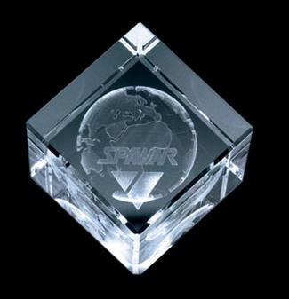 Diamond Shape Crystal (Extra Large)