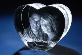 Heart Shape Crystal (Large)
