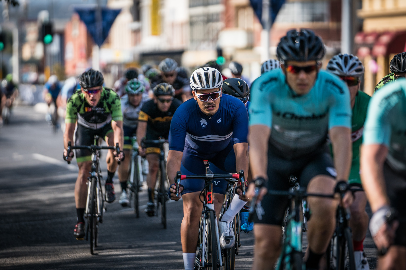Andrew in the B2B Div 3 Crit Race