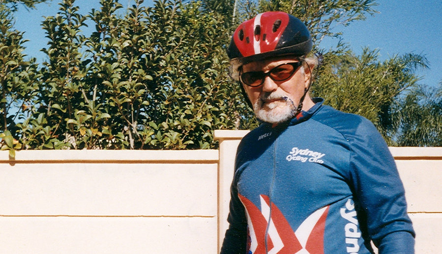 Sydney Cycling Club SCC Founder Don Beavis