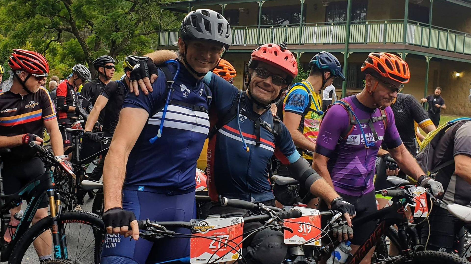 John & Steve at the start line