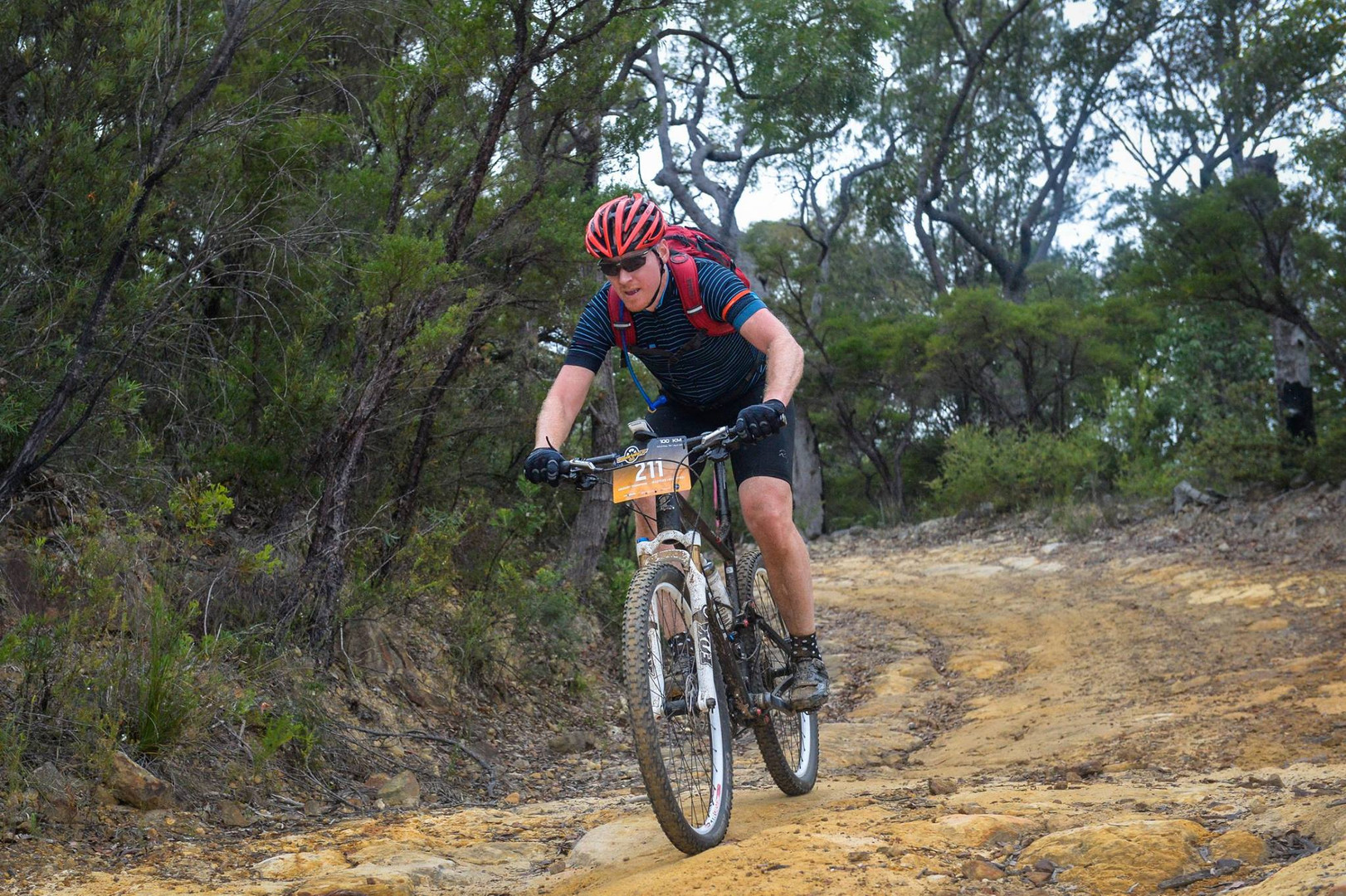 Greg at the Convict 100