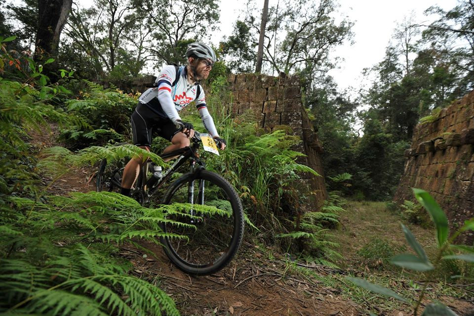Steve at the Convict 100
