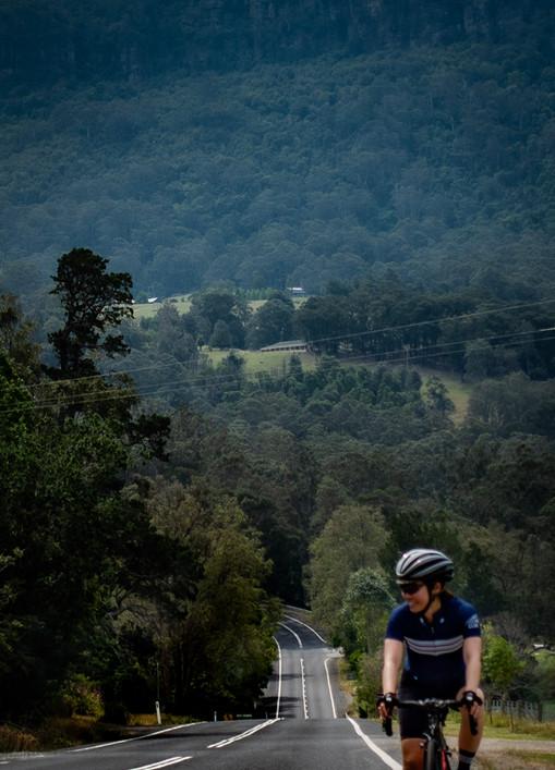 Climbing to Fitzroy Falls