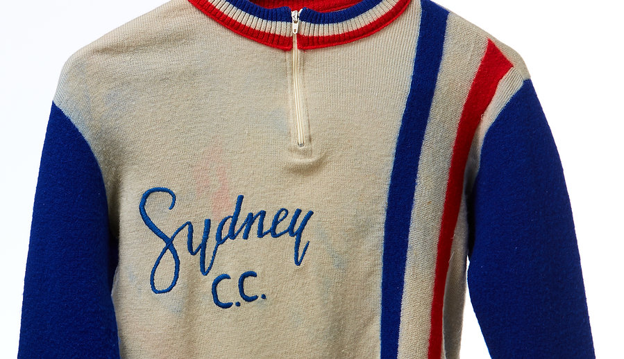Sydney Cycling Club SCC woolen jersey 1979