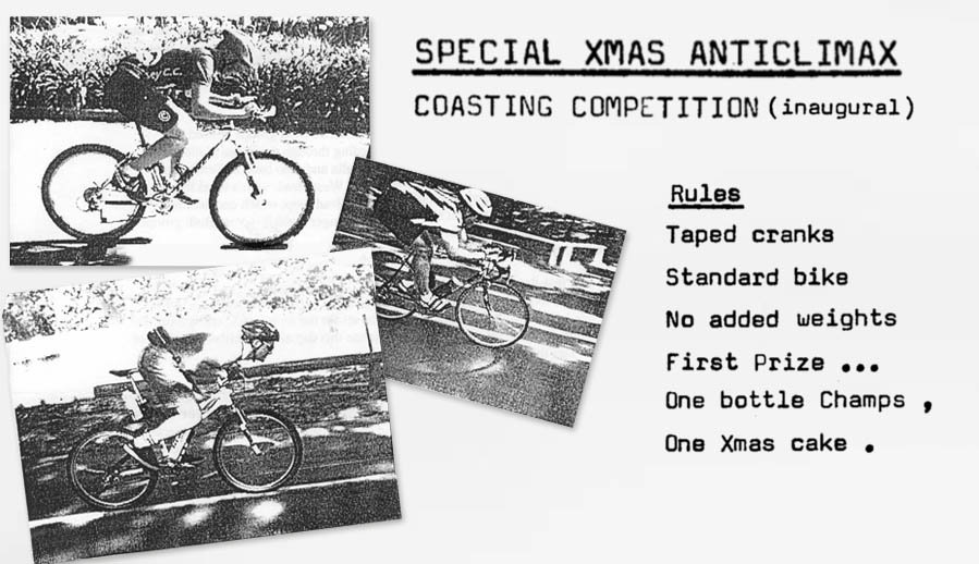 SCC 1986 Christmas Roll Coasting Competition