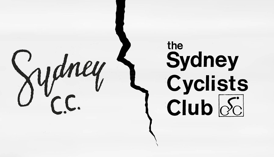 Sydney Cycling Club SCC & Sydney Cyclists Club Split