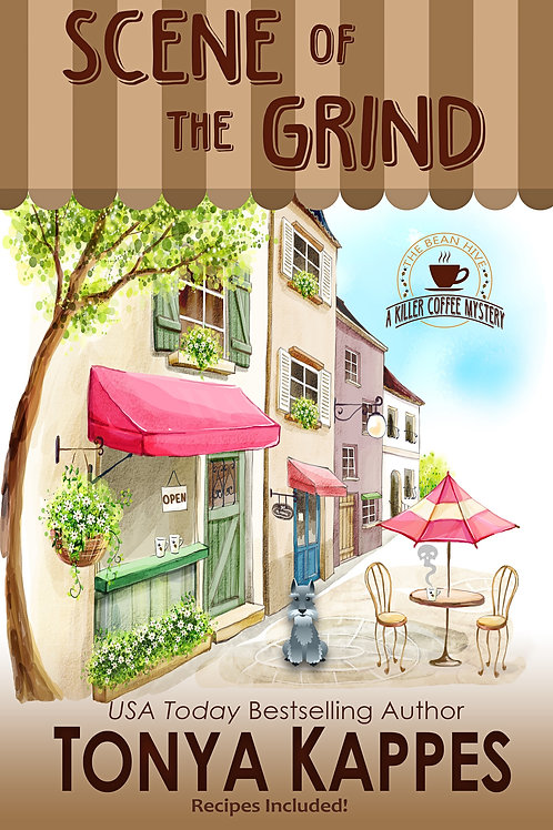 Scene of the Grind, Book One, A Killer Coffee Mystery