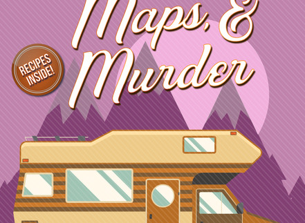 VRROOOMMM!! MOTORHOMES, MAPS, & MURDER RELEASED TODAY!