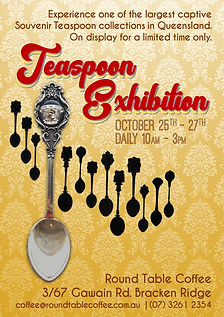 Round Table Coffee Spoon Exhibition 2019