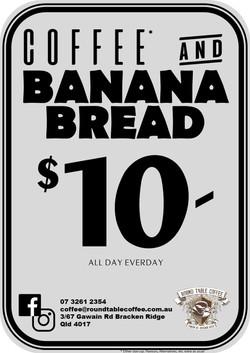 Banana Bread & Coffee