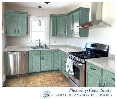 After - ALL CABINETS_ Light Green_Blue S