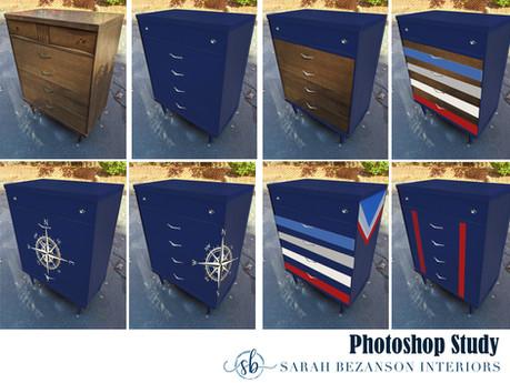 Navy Dresser Collage - Photoshop Study.j