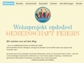 neue opdedeel webseite geht online