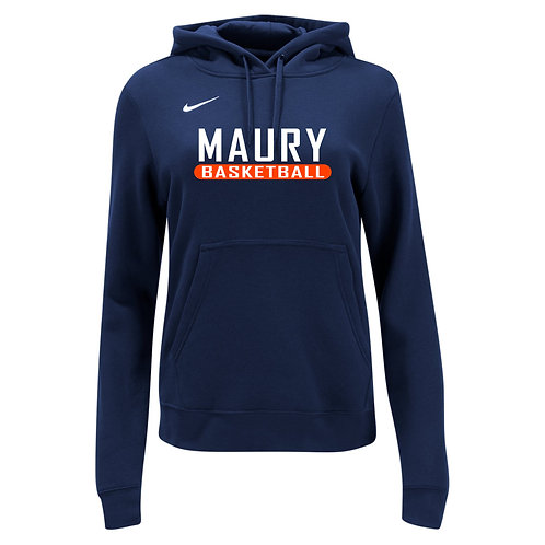 Nike Women's Club Fleece Hoody Maury Basketball
