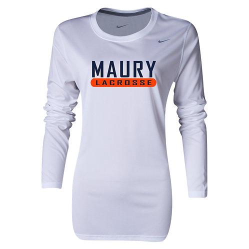 Nike Women's Legend LS Crew Maury Lacrosse