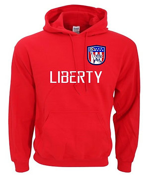 LSA Liberty Hooded Fan Sweatshirt (Various Colors)