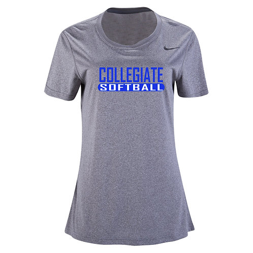 Nike Women's Legend SS Crew Collegiate Softball