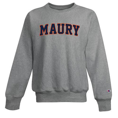 Champion® MAURY Reverse Weave Campus Crewneck Sweatshirt