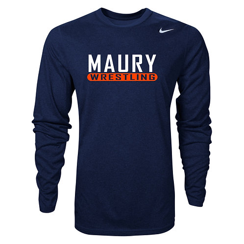 Nike Men's Legend LS Crew Maury Wrestling