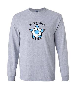 Baystars FC Big Logo Long Sleeve T-Shirt (Various Colors)