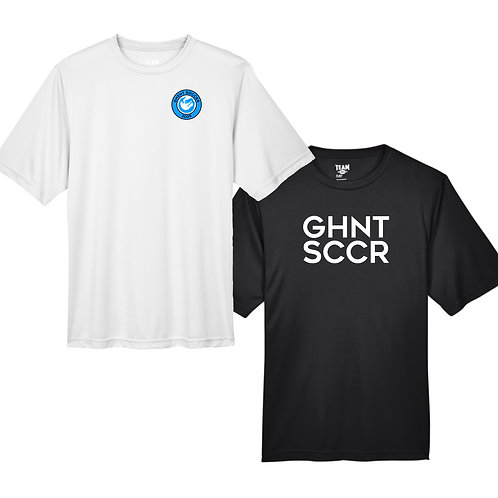 Ghent Soccer Men's SS Performance Shirt Pack Black & White Set