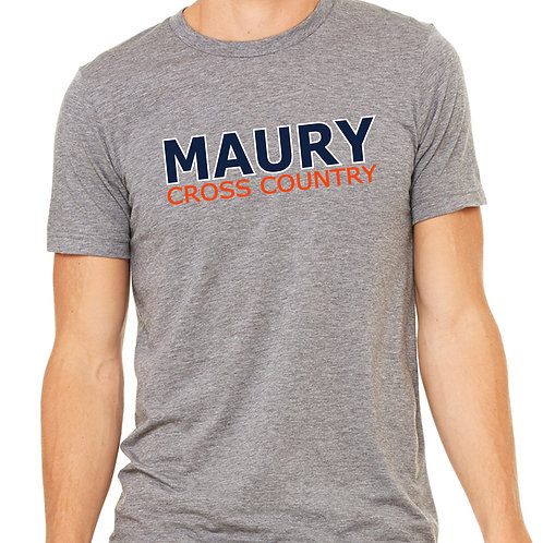 Canvas Tri-Blend SS T-Shirt Maury Cross Country