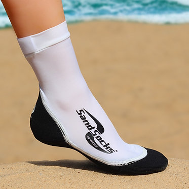 Sand Socks (White)