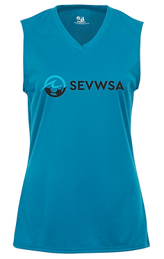 SEVWSA Women's Sleeveless Jersey (Blue)