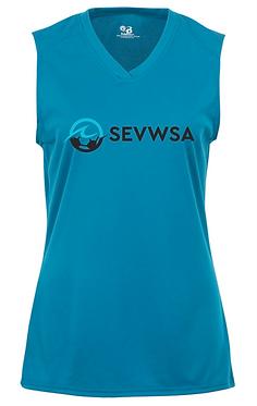 SEVWSA Women's Sleeveless Jersey (Blue)