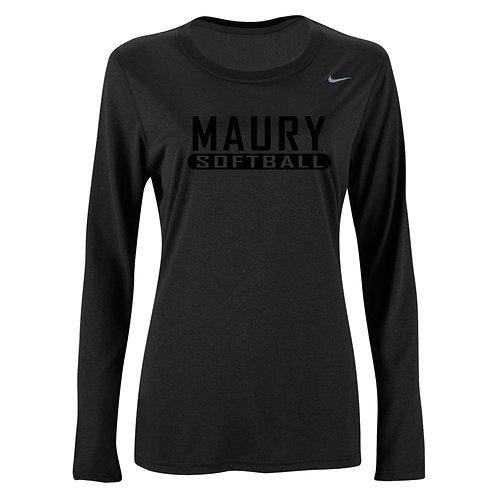 Nike Women's Legend LS Crew Maury Softball