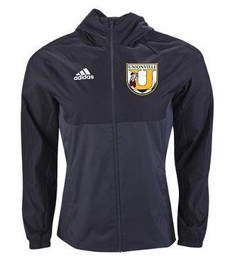Adidas Unionville Crest Rain Jacket (Black)