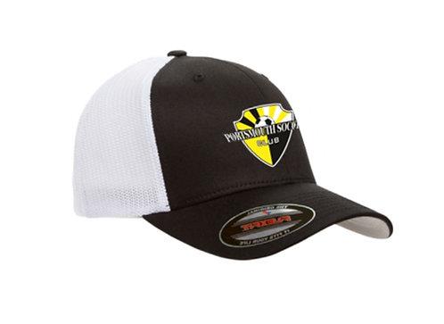 PSC FlexFit Trucker Hat (Black)