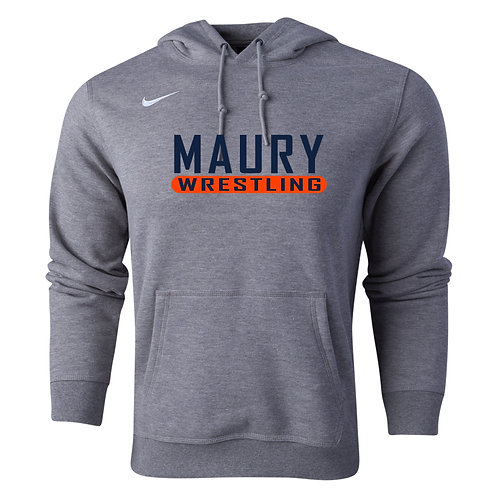 Nike Men's Club Fleece Hoody Maury Wrestling