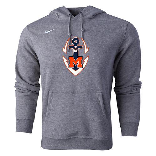 Nike Men's Club Fleece Logo Hoody Maury Football