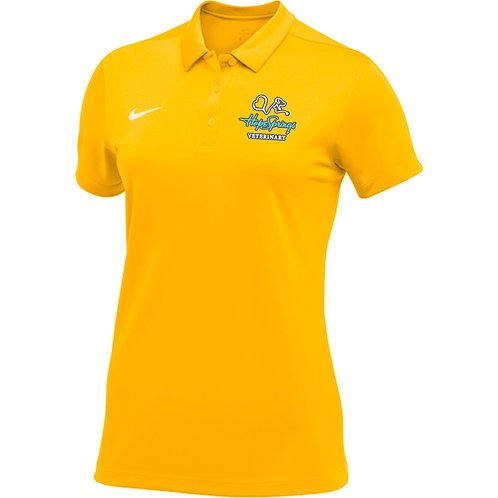 Nike Women's Stock Team Polo Hope Springs (Yellow)