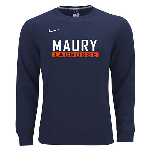 Nike Men's Club Fleece Crew Maury Lacrosse