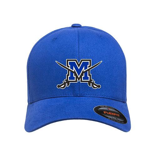 FlexFit Brushed Twill Middletown Logo Hat
