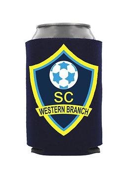 Western Branch Soccer Club Koozie