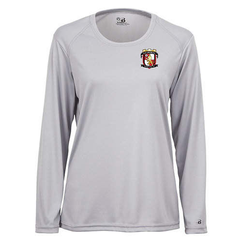 VIP United Women's Wicking LS Poly Shirt