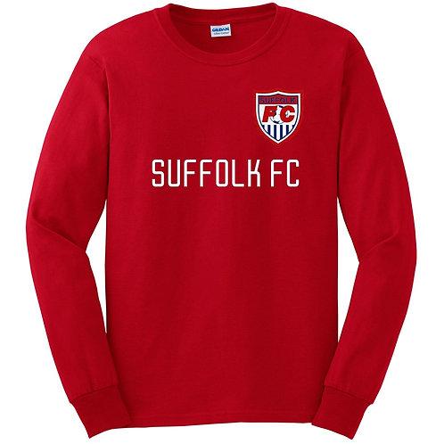 Suffolk FC Long Sleeve Fan T-Shirt (Various Colors)
